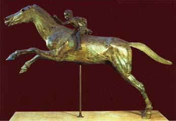 Ο μικρός ιππέας του Αρτεμισίου (αριστερή όψη).