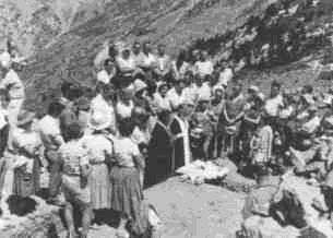 26 Ιουνίου1960. Θεμελίωση του Καταφυγίου